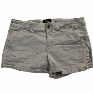 American Eagle Blue/Gray Denim Shorts